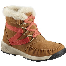 Columbia Maragal Mid WP Chaussures Femme, elk/red canyon